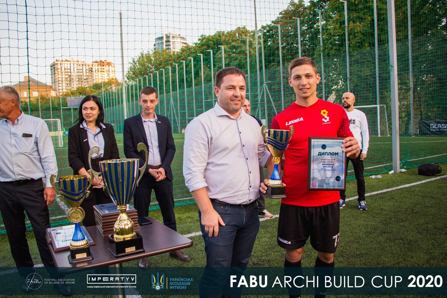 Grasser на Кубку FABU Archi Build Cup
